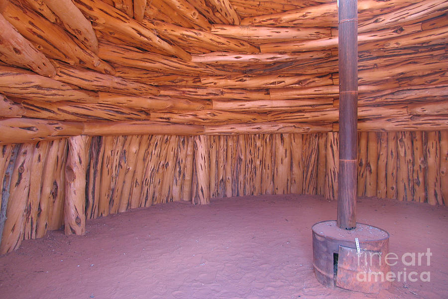 Navajo Homes - Hogans