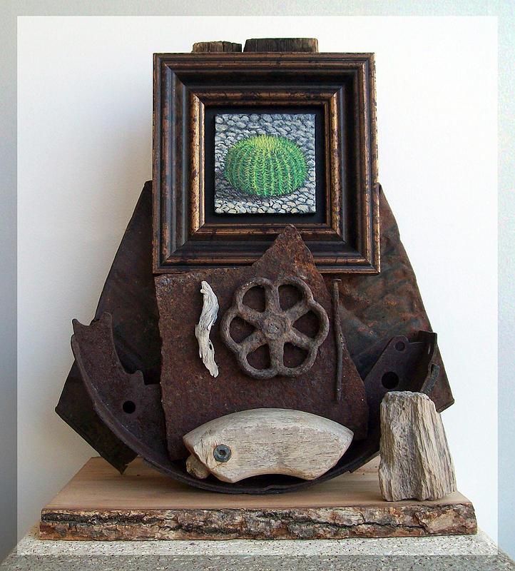 Sculpture Sculpture - Navigate South by Snake Jagger
