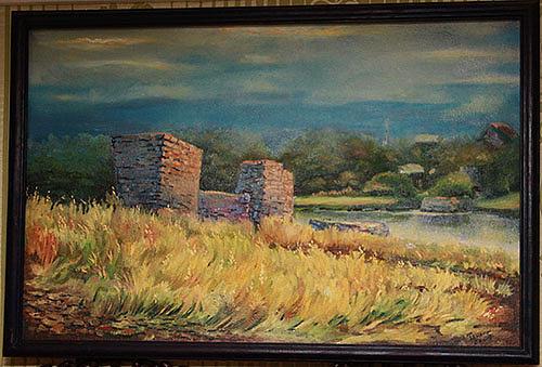 Nazis The Bridge Painting by Tanase Viorel