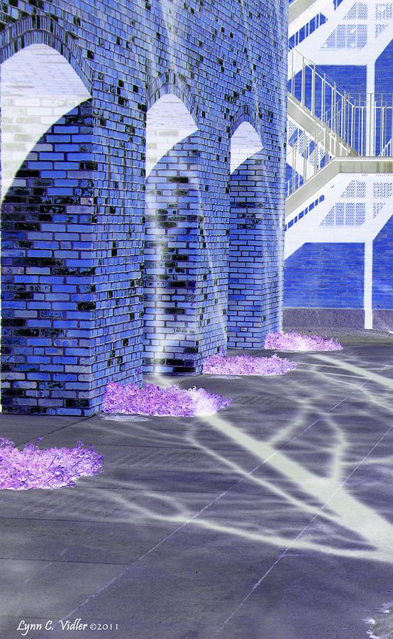 Brick Photograph - Negative Silhouette by Lynn Vidler