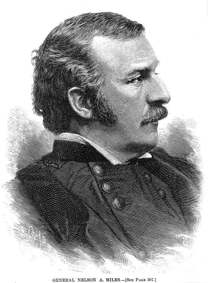 1890 Photograph - Nelson Appleton Miles by Granger