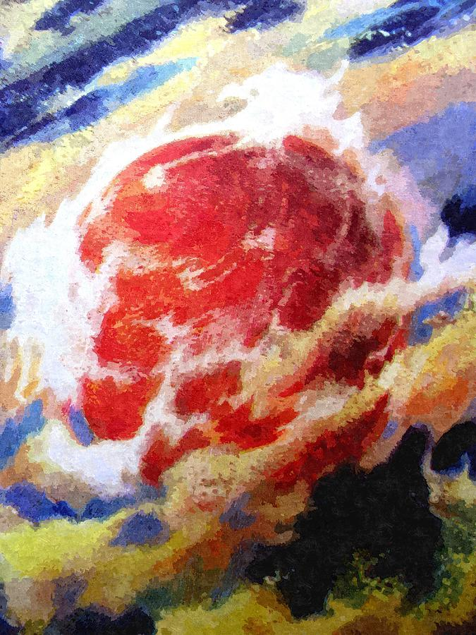 Astronomy Painting - Nemesis Star  by Goldy Parazi