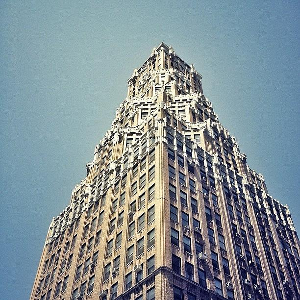 New York City Photograph - Neo-gothic Architecture - Brooklyn - New York City by Vivienne Gucwa
