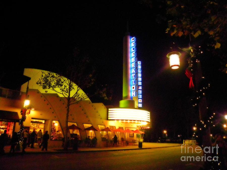 Neon Photograph - Neon Lights by Becky Wanamaker