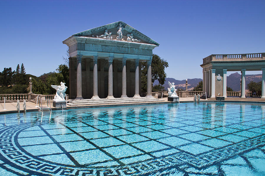 Neptune Pool Hearst Castle Photograph By Heidi Smith