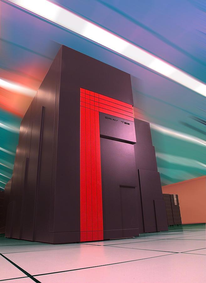 Lawrence Berkeley Laboratory Photograph - Nersc Supercomputer by Lawrence Berkeley National Laboratory