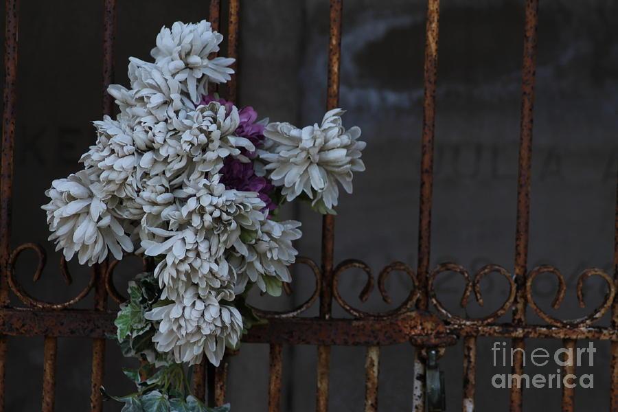 Flowers Photograph - Never Forgotten by Ralph Hecht