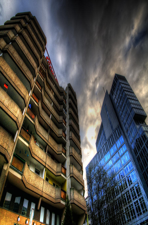 Architecture Photograph - New And Old Living by Nathan Wright