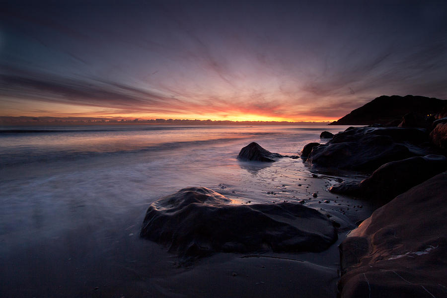Dawn Photograph - New Day In Bray by Celine Pollard
