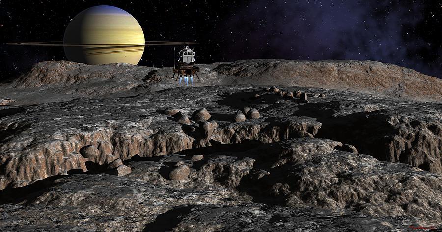 Solar System Digital Art - New Discoveries by David Robinson