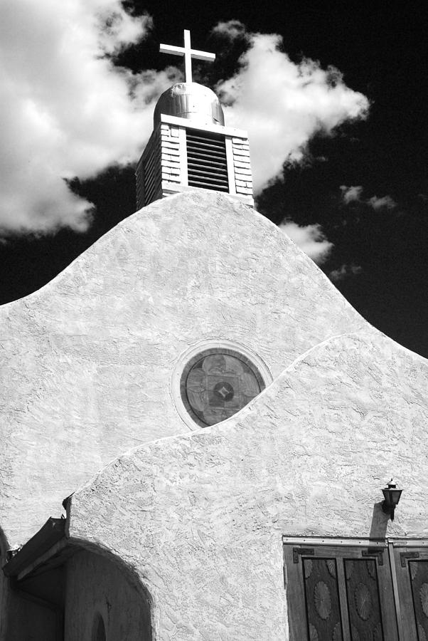 New Mexico Photograph - New Mexico Church by Sonja Quintero