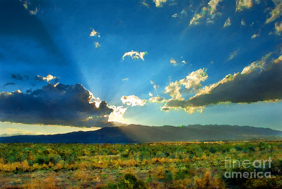 New Mexico Photograph - New Mexico Desert by Betty LaRue