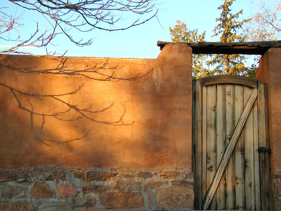 New Mexico Photograph - New Mexico Series - Doorway II by Kathleen Grace