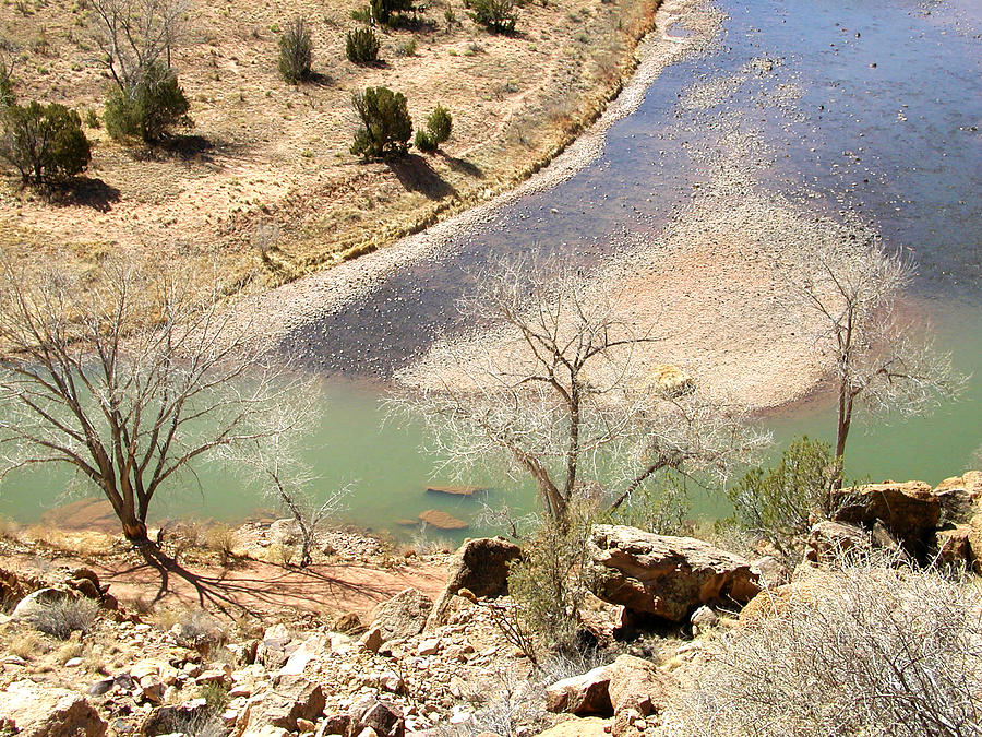 New Mexico Photograph - New Mexico Series A River View by Kathleen Grace