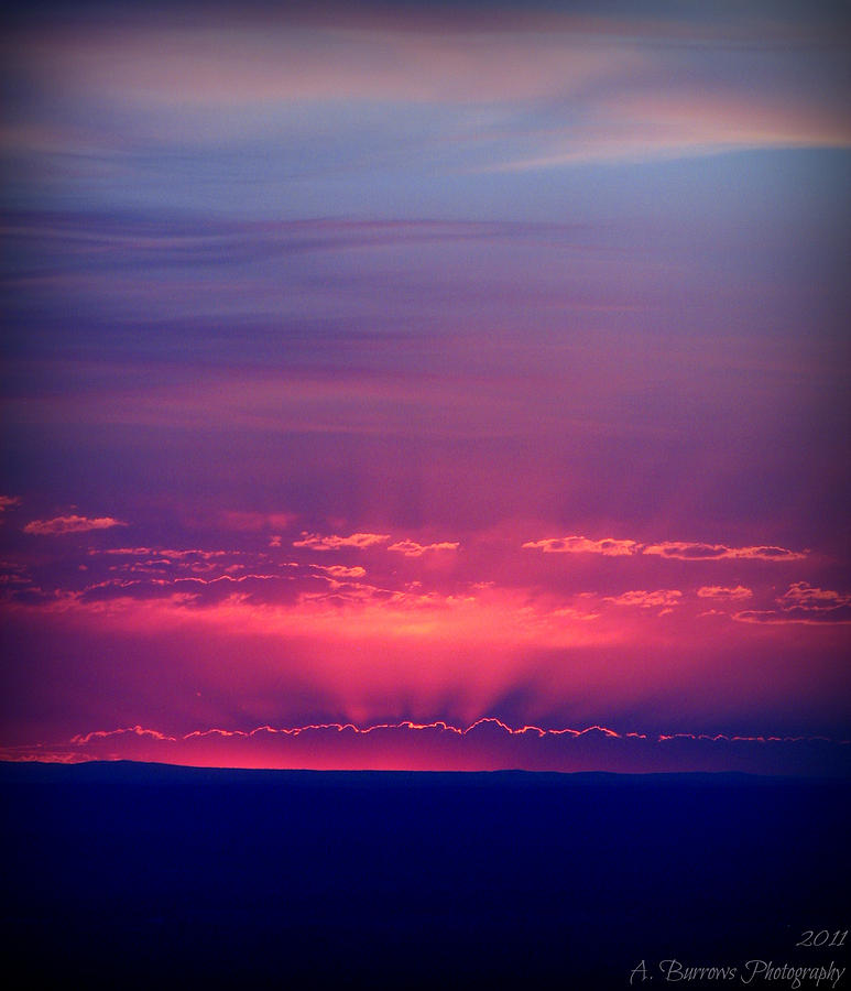 Tanoan Country Club Photograph - New Mexico Sky Colors by Aaron Burrows