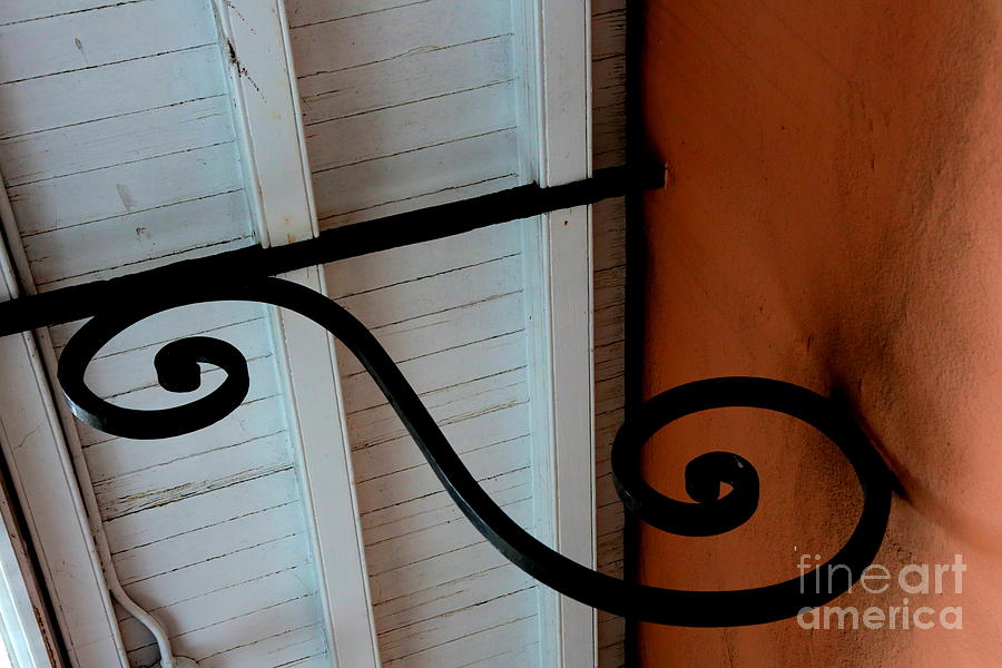 New Orleans Photograph - New Oleans White And Orange by Carol Groenen