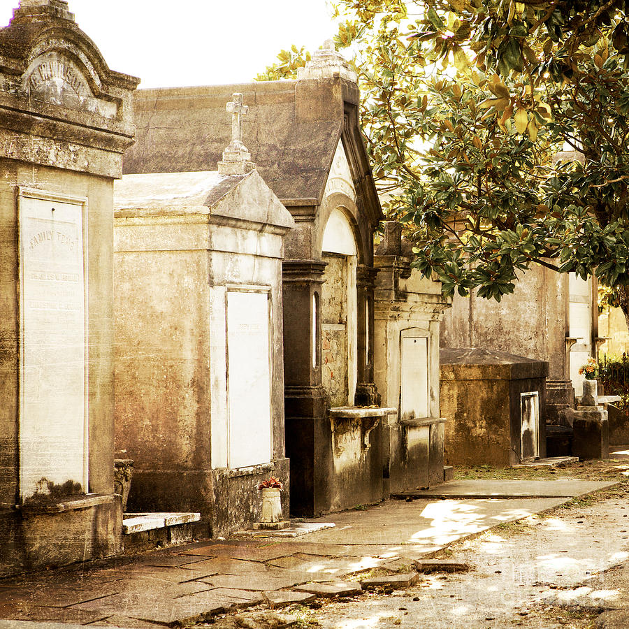 New Orleans Photograph - New Orleans Lafayette Cemetery No.1 by Kim Fearheiley