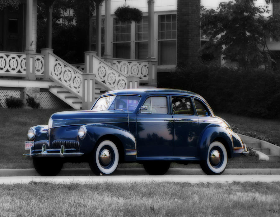Studebaker Photograph - New Paint by Ms Judi