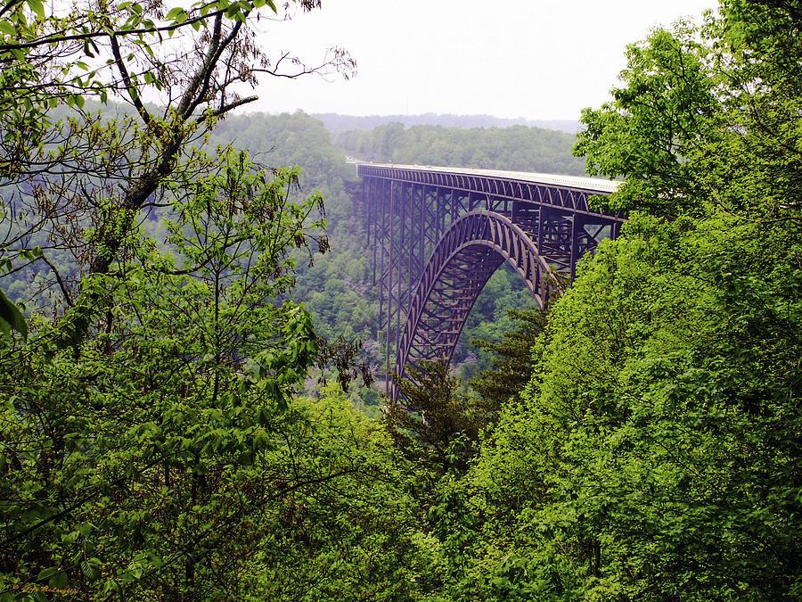 New River Gorge Bridge Photograph by Leroy McLaughlin