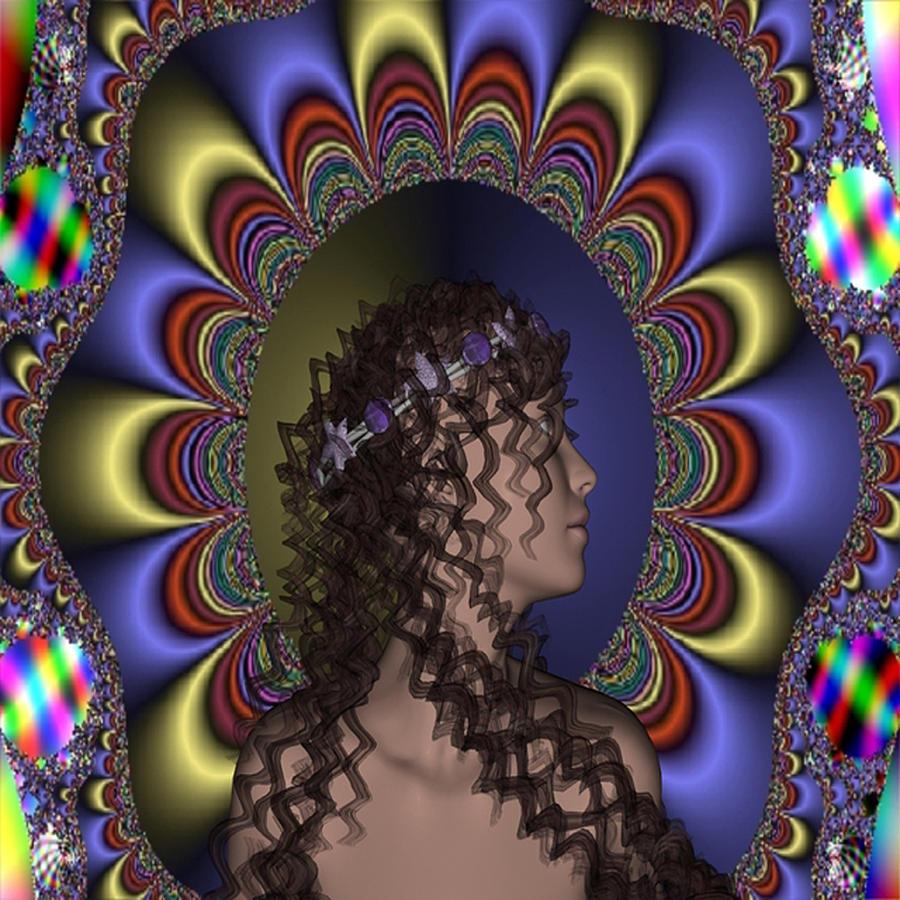 New Digital Art - New Romantic by Matthew Lacey