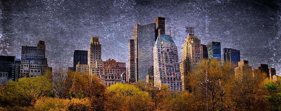America Photograph - New York Buildings by Svetlana Sewell
