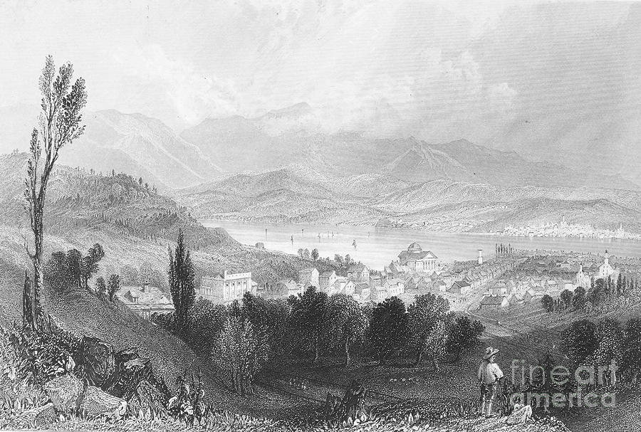 American Photograph - New York: Catskills, 1839 by Granger