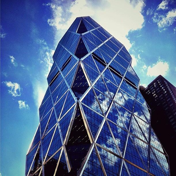 New York City Photograph - New York City - The Hearst Tower by Vivienne Gucwa