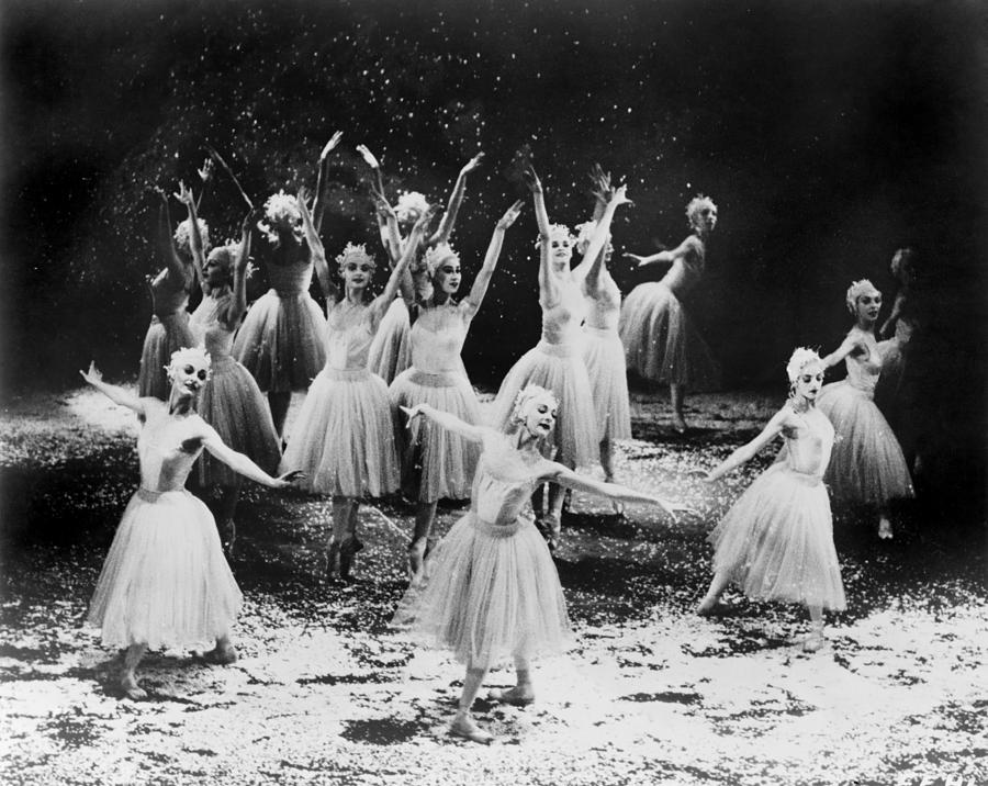 History Photograph - New York City Ballet Performing The by Everett