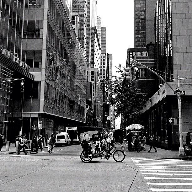 New York City Photograph - New York City Flow Of Life by Vivienne Gucwa