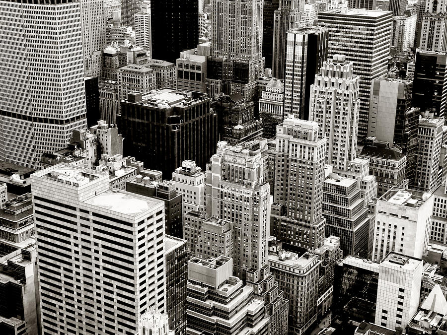 New York City Photograph - New York City From Above by Vivienne Gucwa