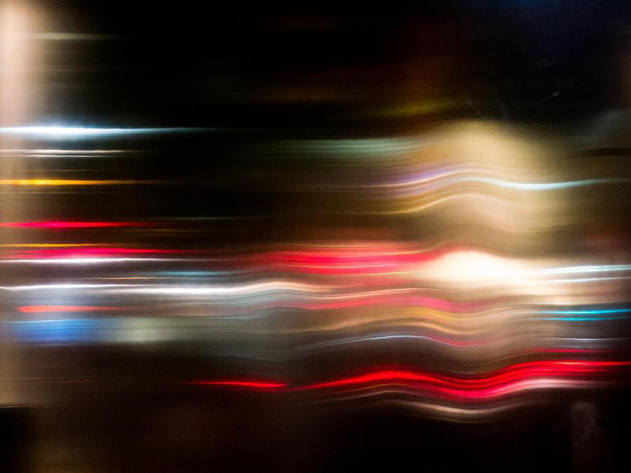 New York City Lights Photograph