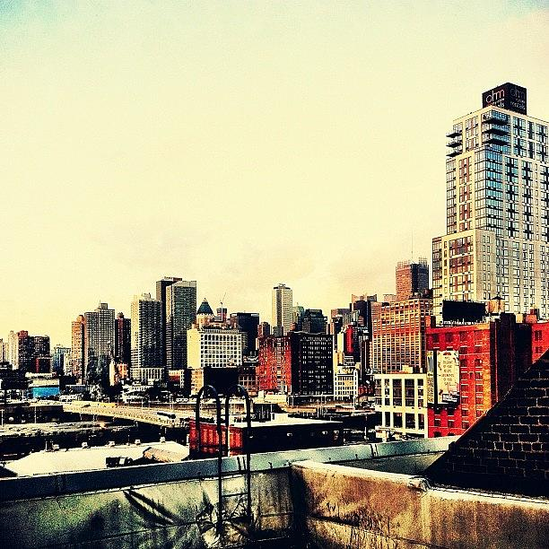 New York City Photograph - New York City Rooftops by Vivienne Gucwa