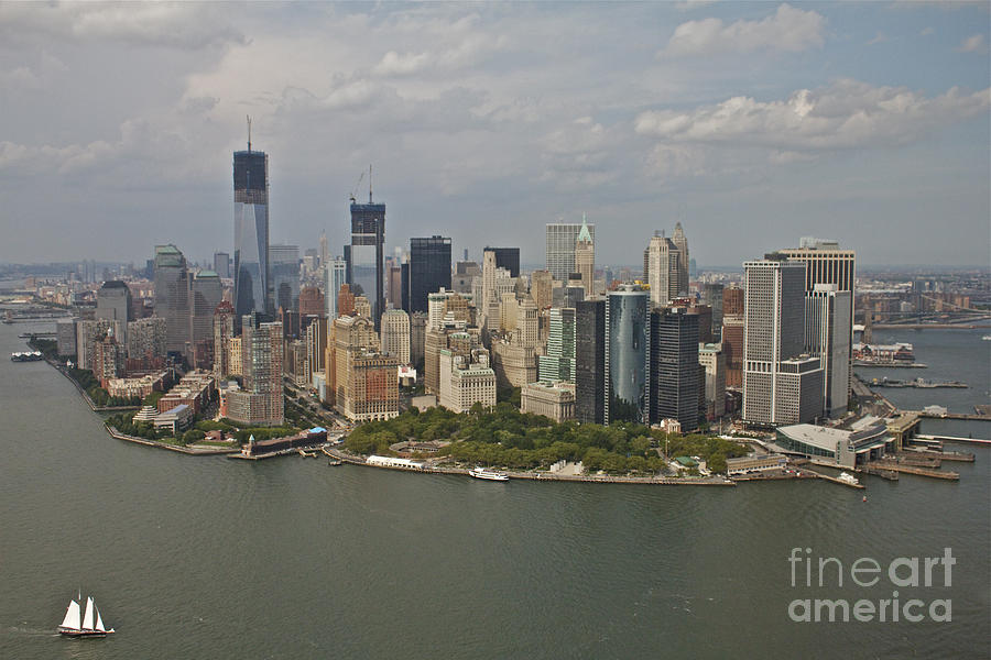 New York City Photograph - New York City Sky Line by Linda Asparro