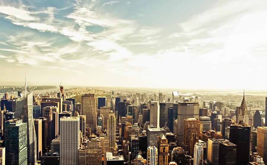 New York City Photograph - New York City by Vivienne Gucwa