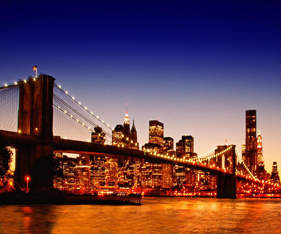 Horizontal Photograph - New York Cityscape by ©jesuscm
