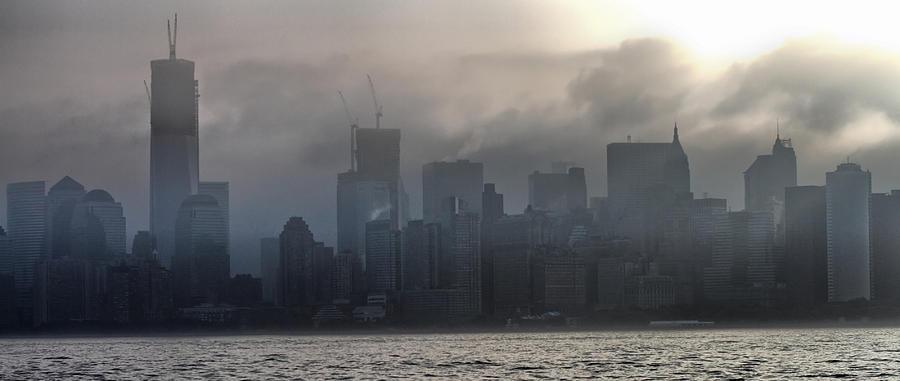 Fog Photograph - New York Fog by Farol Tomson