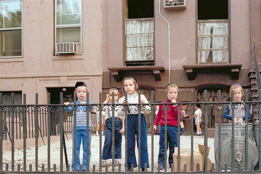 New York Photograph - New York Kids 1975 by Mark Greenberg