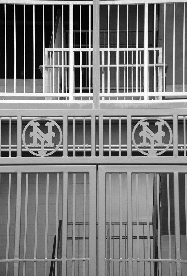 Shea Stadium Photograph - New York Mets Jail by Rob Hans