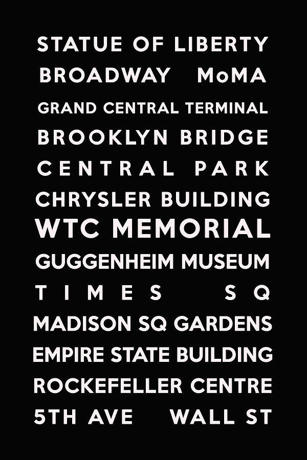 New York Digital Art - New York by Georgia Fowler