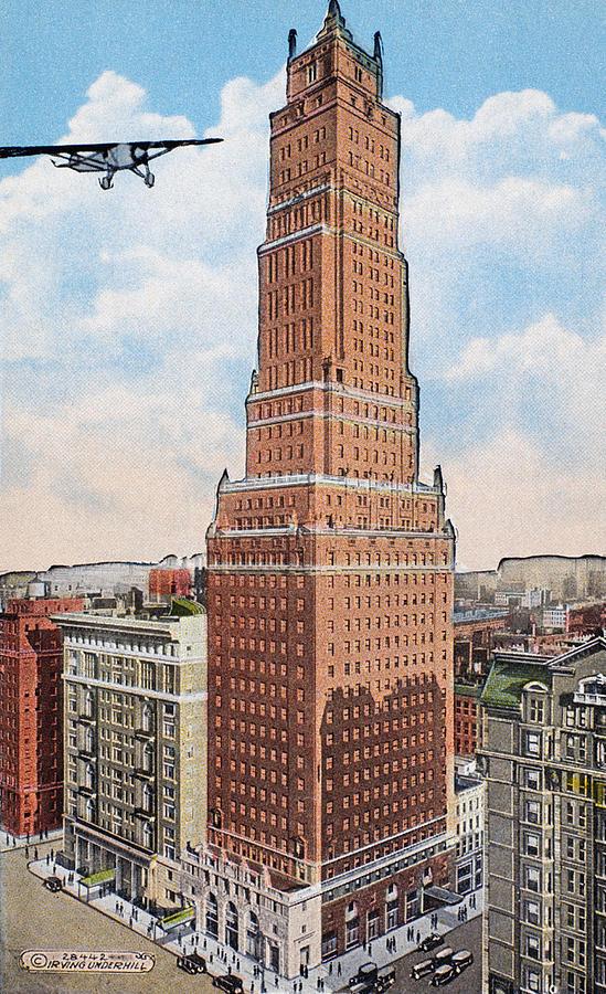 New York Ritz Tower Photograph By Granger