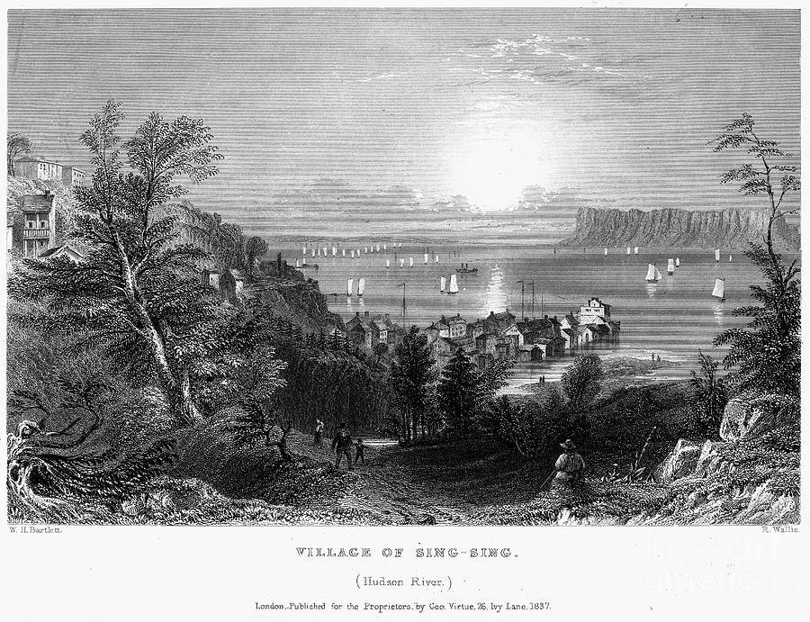 1837 Photograph - New York: Sing Sing by Granger