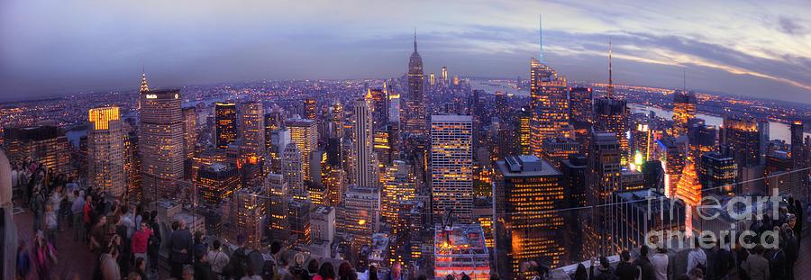 For Sale Photograph - New York Skyline Panorama by Yhun Suarez