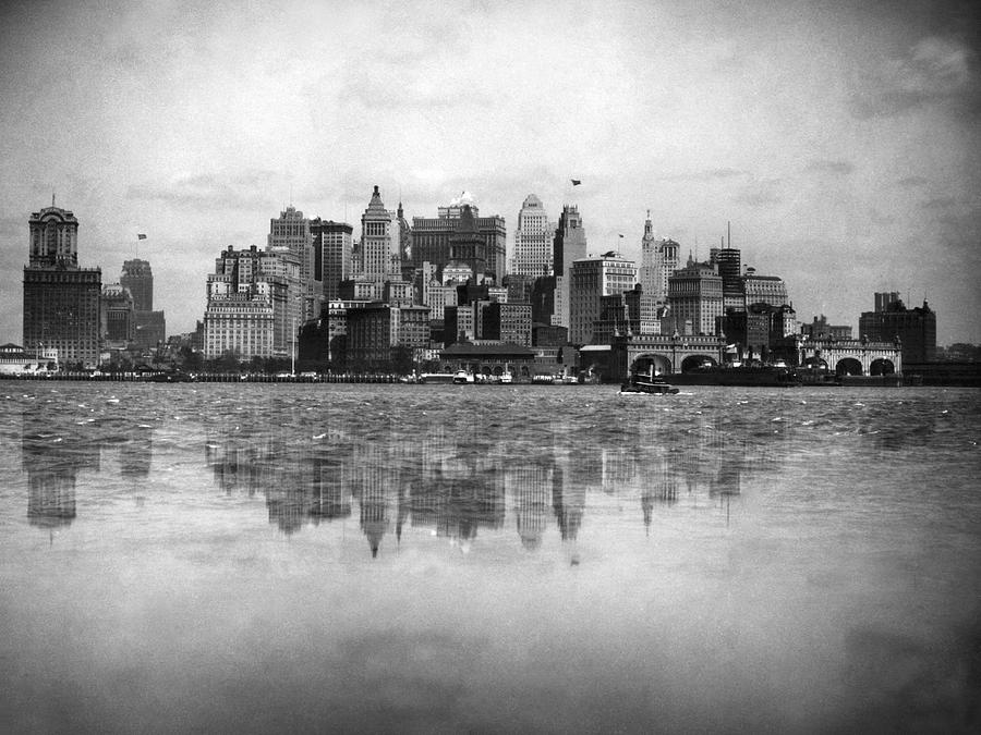 Howards Hollow Antique Pre 1920 New York City Vintage ... |Museum New York Skyline 1920