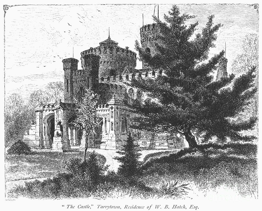 1876 Photograph - New York State: Castle by Granger
