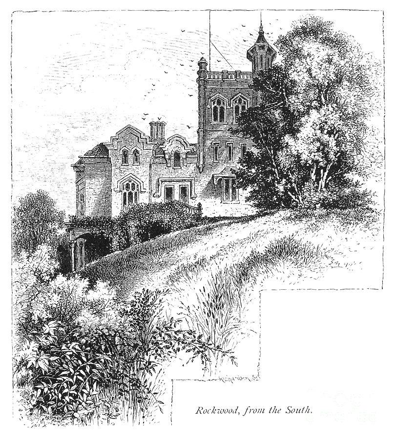 1876 Photograph - New York State: Villa by Granger