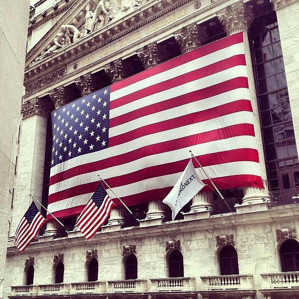 Europe Photograph - New York Stock Exchange/wall Street by Randy Lemoine