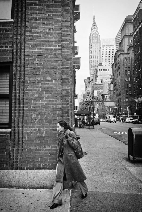 New York Photograph - New Yorker by Ilker Goksen