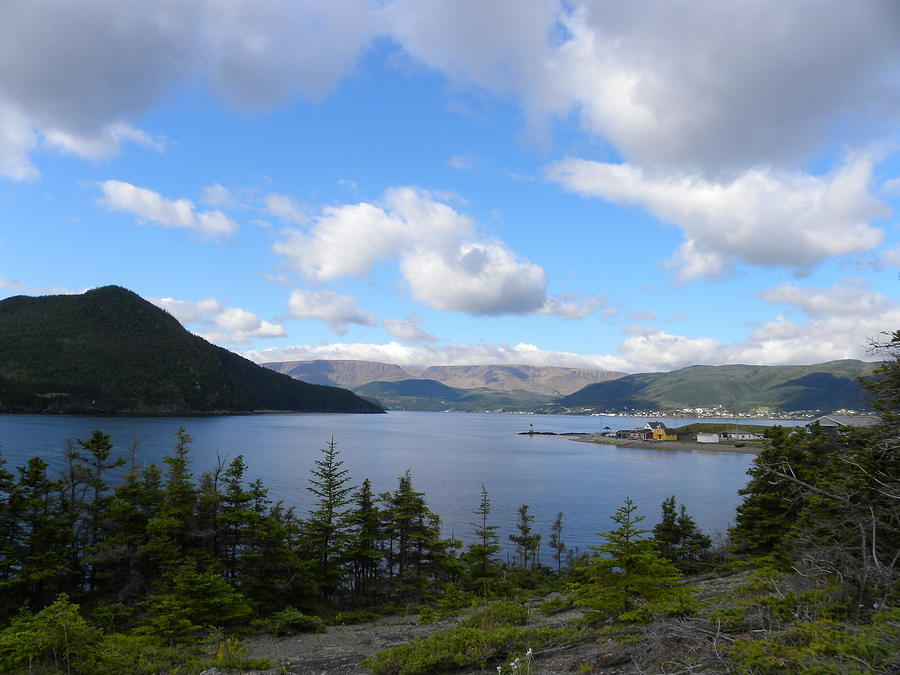 Norris Point Photograph - Newfoundland Beauty by Peggy  McDonald