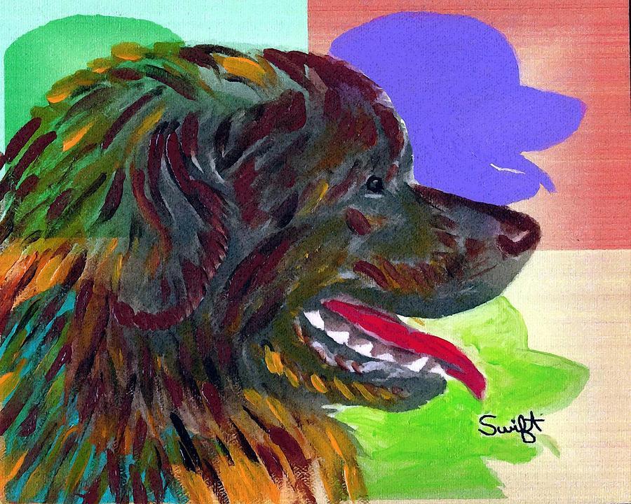 Newfoundland Painting - Newfoundland by Char Swift