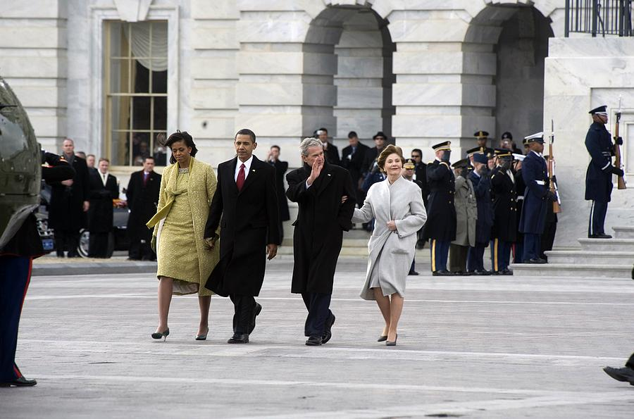 History Photograph - Newly Installed President Obama by Everett